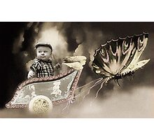 BUTTERFLY ME AWAY Photographic Print