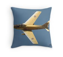 Hawk One Throw Pillow