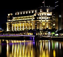 The Fullerton Hotel, Singapore by Tamara Travers
