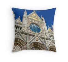Duomo di Siena Throw Pillow