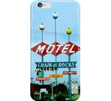 Retro Motel iPhone Case/Skin