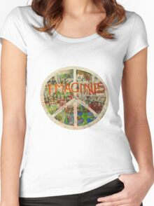 All You Need is Love - The Beatles - John Lennon - Imagine Women's Fitted Scoop T-Shirt
