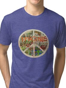 All You Need is Love - The Beatles - John Lennon - Imagine Tri-blend T-Shirt