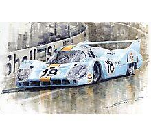 Porsche 917 LH 24 Le Mans 1971 Rodriguez Oliver Photographic Print