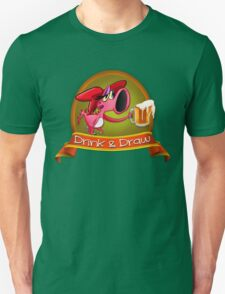 Drink and Draw Logo T-Shirt