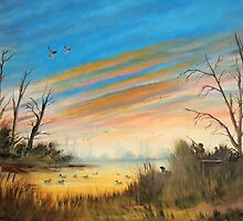 Evening Duck Hunt by bill holkham