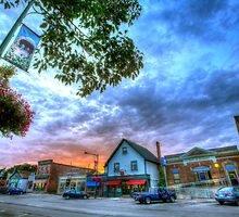 HDR Broad Street Sussex New Brunswick Canada by Jamie Roach