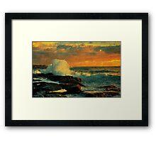 Evening Shores Framed Print