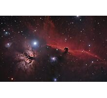 The Horse & Flame Nebula Photographic Print