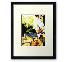 Swinging sweetly Framed Print