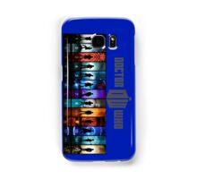 The Doctor Through Time Samsung Galaxy Case/Skin