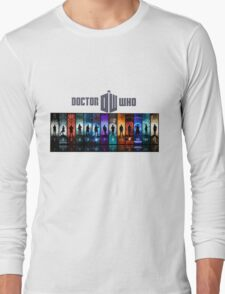 The Doctor Through Time Long Sleeve T-Shirt