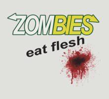 Zombies Eat Flesh by djhypnotixx