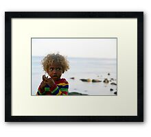 Pure Blond Framed Print