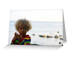 Pure Blond Greeting Card