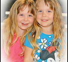 Kayla & Kenzie by Russell Adams