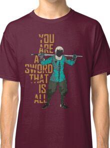 Longsword Fencer Classic T-Shirt