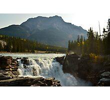 Athabasca Falls ~ Jasper National Park Photographic Print