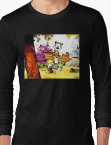 Calvin & Hobbes Long Sleeve T-Shirt