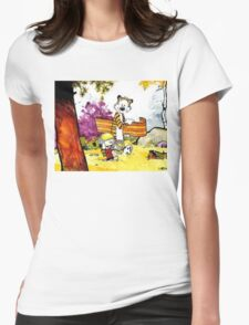 Calvin & Hobbes Womens Fitted T-Shirt