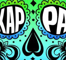 Kappa Sugar Skull Sticker