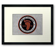 Foot Clan Recruitment Framed Print