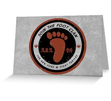 Foot Clan Recruitment Greeting Card