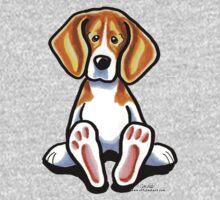 Big Feet Beagle One Piece - Short Sleeve