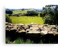 Perfect Pasture Canvas Print