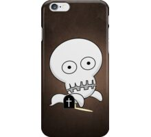 Funny Ghost iPhone Case/Skin