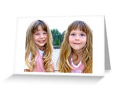 Bright Eyes and a Smile Greeting Card