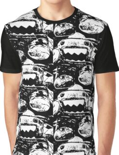 "Domo ""Scared"" (2) Graphic T-Shirt"