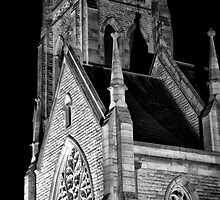 St Saviours by night_Goulburn by Sharon Kavanagh