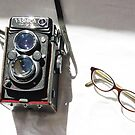 yashica &amp; cat eyes by Soxy Fleming
