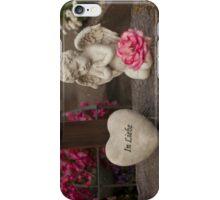 Praying Cherub II iPhone Case/Skin