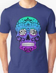 Sig Delt Sugar Skull Unisex T-Shirt