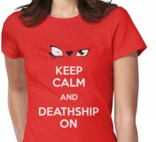 Deathshipping Womens Fitted T-Shirt