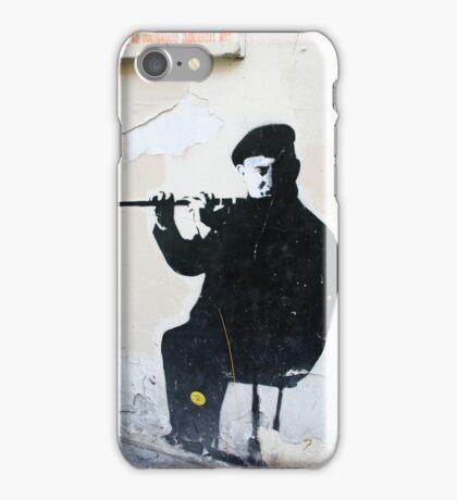 Graffiti Musician iPhone Case/Skin