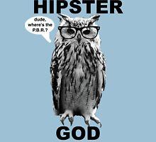 THE HIPSTER GOD Unisex T-Shirt