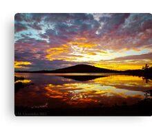 Hobart Sunset Canvas Print