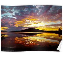 Hobart Sunset Poster