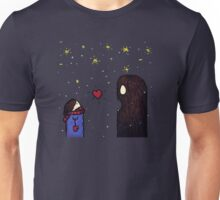 Sharing Love with a Monster Unisex T-Shirt