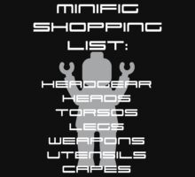 Minifig Shopping List by Customize My Minifig  by ChilleeW
