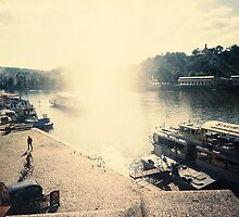 Along the Vltava by Tara Holland