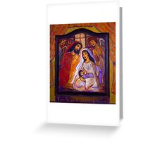 For To Us A Child Is Born Greeting Card