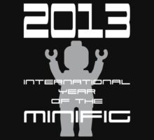2013 International Year of the Minifig by Customize My Minifig  by ChilleeW