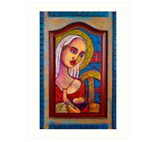 Mary with Baby Jesus Art Print