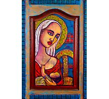 Mary with Baby Jesus Photographic Print