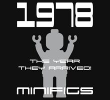'1978 The Year They Arrived! Minifigs' by Customize My Minifig by ChilleeW