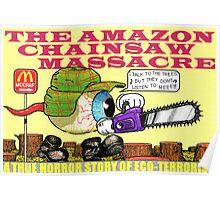 Amazon chainsaw massacre Poster